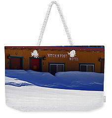 Hitchin' Post March Weekender Tote Bag by Jeremy Rhoades
