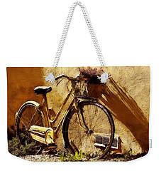 Hitching A Ride Weekender Tote Bag