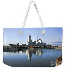 Hms Dauntless Weekender Tote Bag