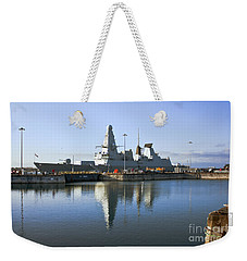 Hms Dauntless Weekender Tote Bag