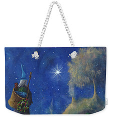 Hobbiton Christmas Eve Weekender Tote Bag by Joe Gilronan
