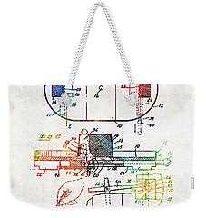 Hockey Art - Game Board - Sharon Cummings Weekender Tote Bag