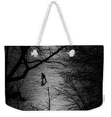 Hockey Silhouette Weekender Tote Bag