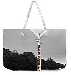 Hog Sign - Selective Color Weekender Tote Bag