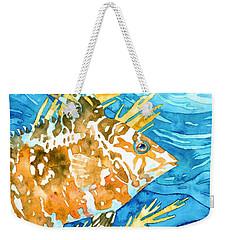 Hogfish Portrait Weekender Tote Bag