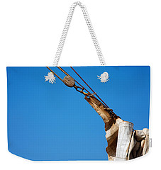 Hoist The Sails. Weekender Tote Bag