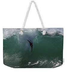 Hold Your Breath Weekender Tote Bag by Joe Schofield