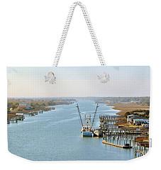Holden Beach In Nc Weekender Tote Bag