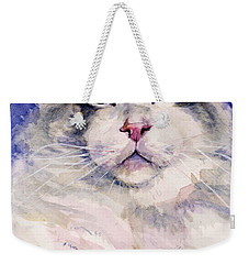 Holding Court Weekender Tote Bag by Judith Levins