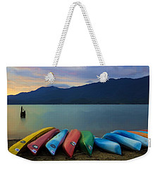 Holding On To Summer Weekender Tote Bag