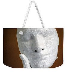Holding Onto His Facade Weekender Tote Bag