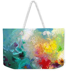 Holding The High Watch Canvas One Weekender Tote Bag by Sally Trace
