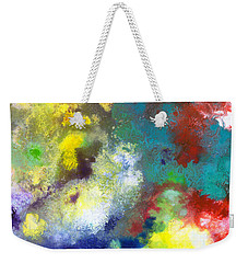 Holding The High Watch Canvas Two Weekender Tote Bag by Sally Trace
