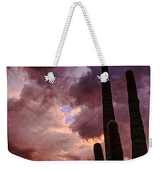 Hole In The Sky Weekender Tote Bag