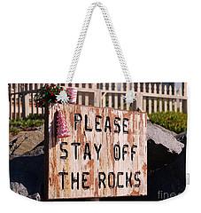 Holiday Straight Up Weekender Tote Bag
