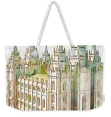 Holiness To The Lord Weekender Tote Bag by Greg Collins