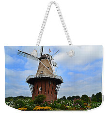 Holland Michigan Windmill Weekender Tote Bag