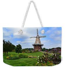Holland Michigan Windmill Landscape Weekender Tote Bag
