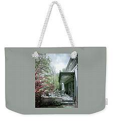 Hollis Baker's Patio Weekender Tote Bag