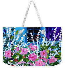 Hollyhock Alley  Weekender Tote Bag