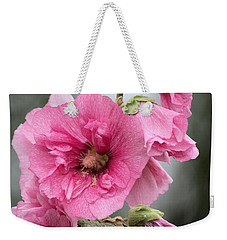 Hollyhock Weekender Tote Bag by Bonfire Photography