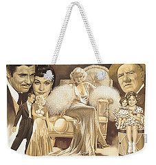 Hollywoods Golden Era Weekender Tote Bag