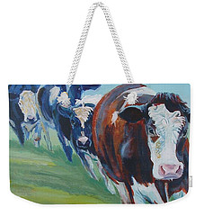 Holstein Friesian Cows Weekender Tote Bag