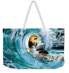 Holy Roar Weekender Tote Bag