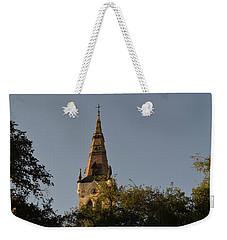 Weekender Tote Bag featuring the photograph Holy Tower   by Shawn Marlow