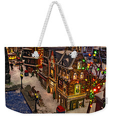 Weekender Tote Bag featuring the photograph Home For The Holidays by GJ Blackman