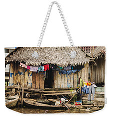 Home In Shanty Town Weekender Tote Bag by Allen Sheffield