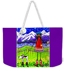Home Weekender Tote Bag by Jackie Carpenter