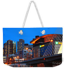 Home Of The Celtics And Bruins Weekender Tote Bag
