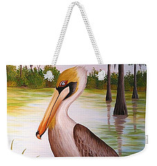 Home On The Bayou  Weekender Tote Bag