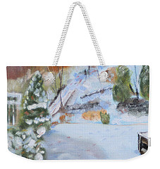 Home Scene South Weekender Tote Bag