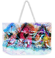 Home Through All Seasons Weekender Tote Bag