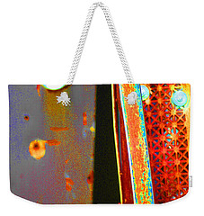 Weekender Tote Bag featuring the photograph Homeless by Christiane Hellner-OBrien