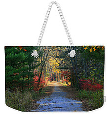 Weekender Tote Bag featuring the photograph Homeward Bound by Neal Eslinger