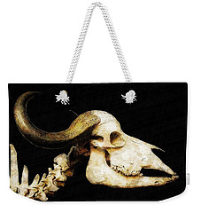Weekender Tote Bag featuring the mixed media Hommage A La Georgia by Sandy MacGowan