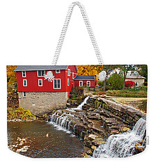 Honeoye Falls 1 Weekender Tote Bag by Aimee L Maher Photography and Art Visit ALMGallerydotcom