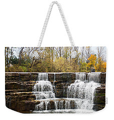 Honeoye Falls 2 Weekender Tote Bag by Aimee L Maher Photography and Art Visit ALMGallerydotcom
