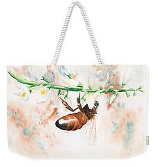 Honey Bee Weekender Tote Bag