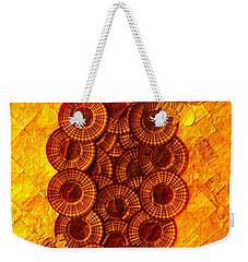 Honeybee 2 Weekender Tote Bag by Lorna Maza