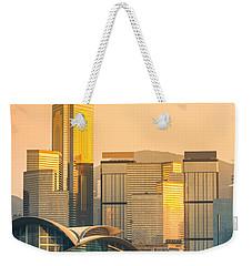 Hong Kong. Weekender Tote Bag by Luciano Mortula