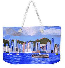 Hong Kong Weekender Tote Bag by Magdalena Frohnsdorff