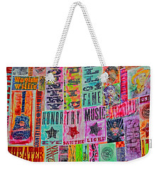 Honor Thy Music Blanket Weekender Tote Bag