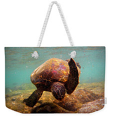 Honu At Kahaluu Weekender Tote Bag