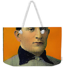 Honus Wagner Baseball Card 0838 Weekender Tote Bag
