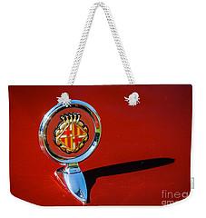 Hood Ornament On Matador Barcelona II Coupe Weekender Tote Bag