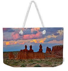 Hoodoo Storm Weekender Tote Bag